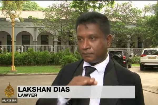 Image result for Lakshan Dias lawyer